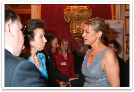 Meeting Princess Anne