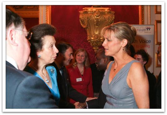 Meeting Princess Anne