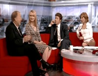 Karen on BBC Breakfast