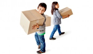 How to Manage Moving House with Children