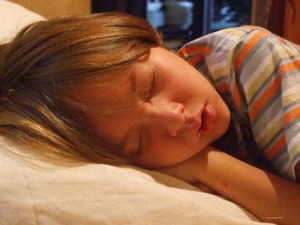 Extra Sleep Makes Kids Happier
