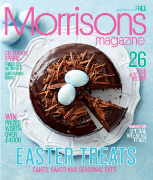 Morrisons magazine March April 2013