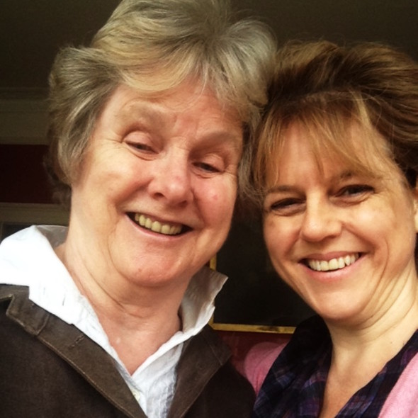 Rachel Kelly and Mum